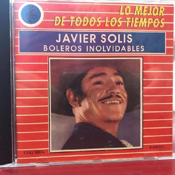 Cd recopilatorio de javier solís año 1988