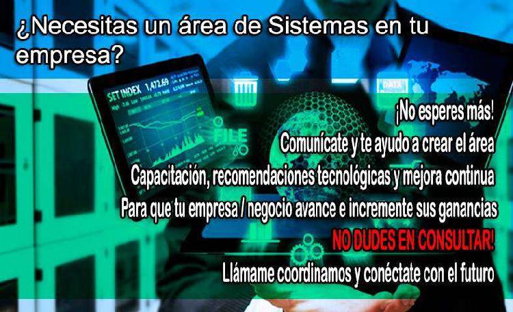 Crea el area de sistemas para tu empresa!