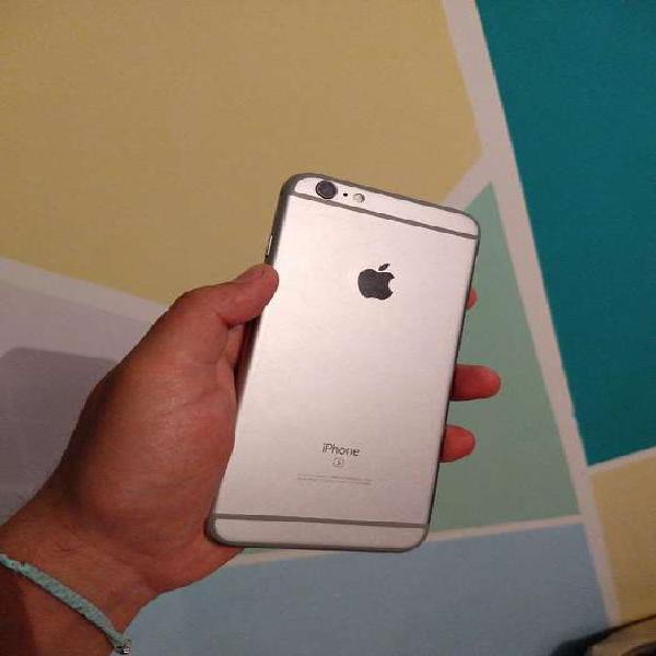 Iphone 6s plus de 64gb y 90% de bateria impecable