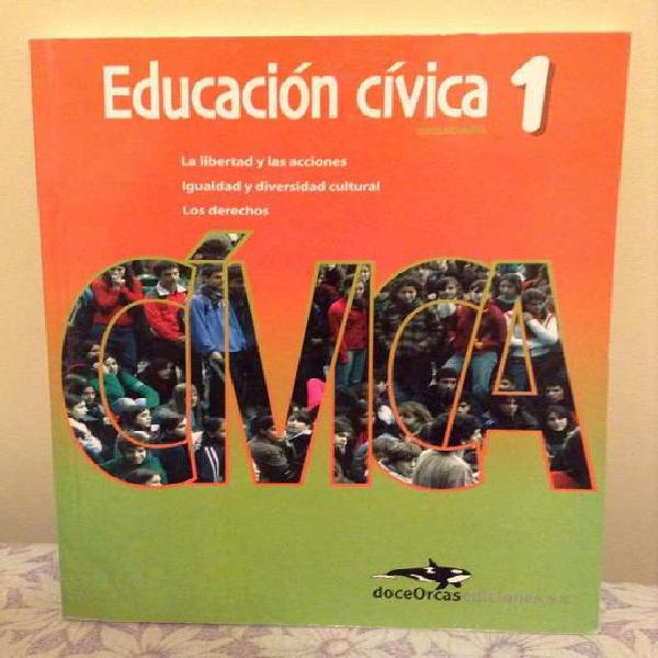 Libro escolar de educación cívica
