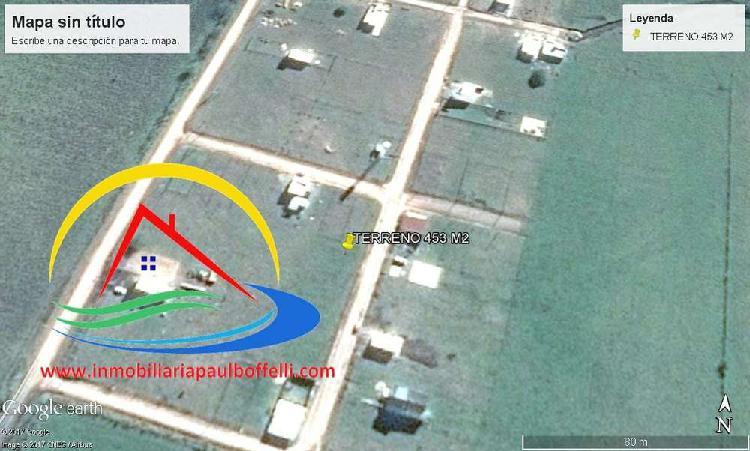 Terreno 453 m2 - san justo - entre ríos