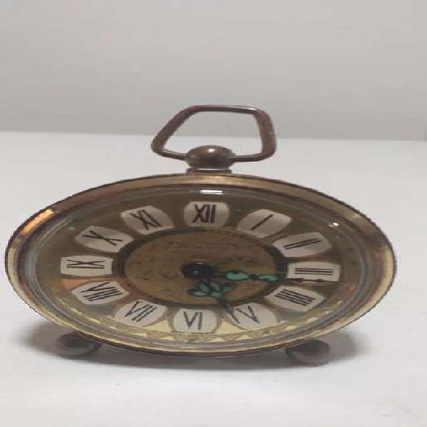Antiguo reloj alemán en bronce