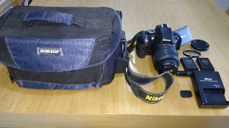 Camara nikon d5100 + varios accesorios