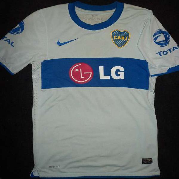 Camiseta boca jrs 2010/11 suplente (original)