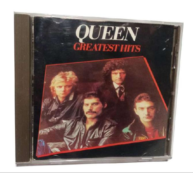 Cd queen greatest hits importado reino unido 1981 emi usado