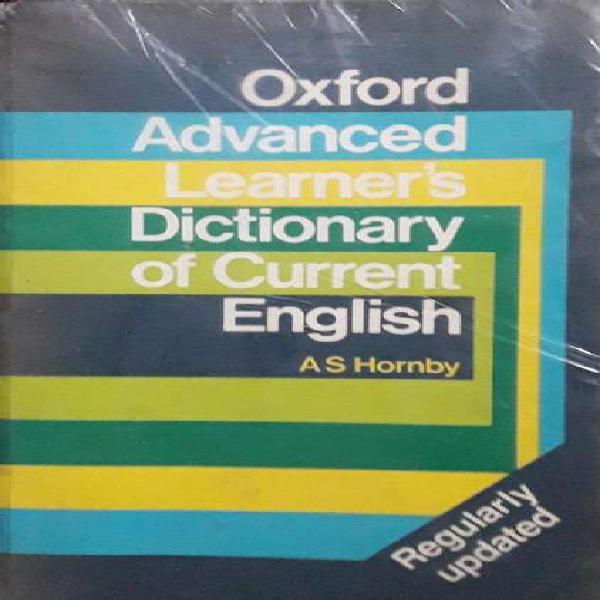 Diccionario ingles oxford advanced learners dictionary of
