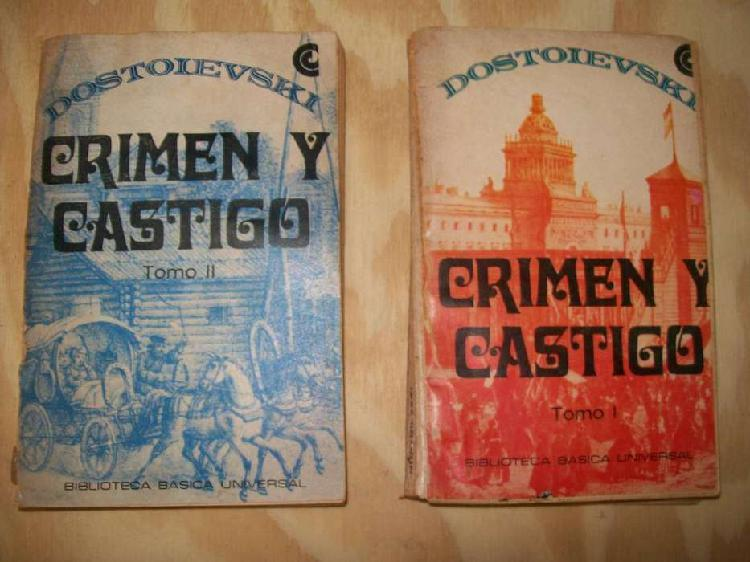Libro crimen y castigo dostoievski