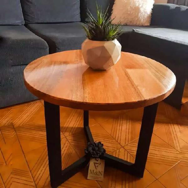 Mesa ratona estilo industrial