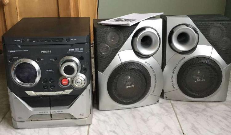 Mini hi-fi system mp3-cd philips