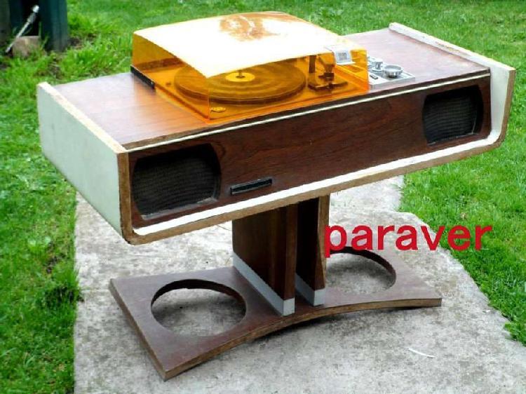 Muy raro combinado mueble diseño retro vintage funciona