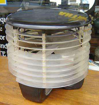 Muy raro y antiguo caloventor vetilador diseño art deco