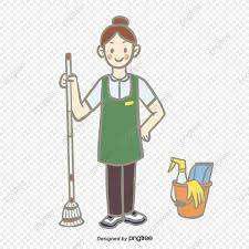 Señorita para limpieza