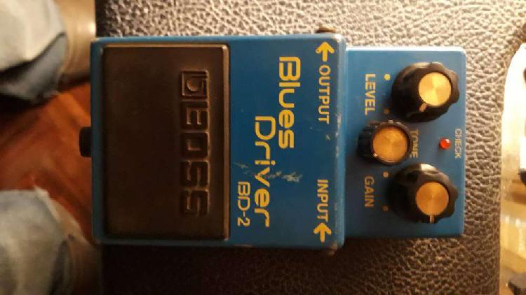 Vendo pedal de guitarra: boss blues driver bd-2