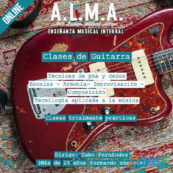 Clases de Guitarra en Caballito y Online