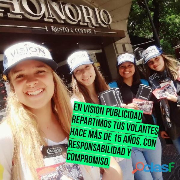 Vision Desde 1989 Reparto Volantes 1