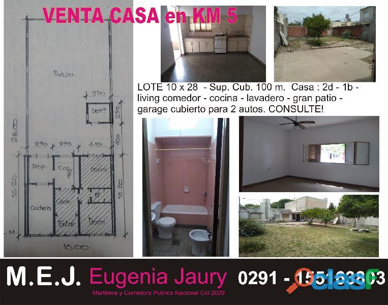 VENTA CASA Bº KM5 1