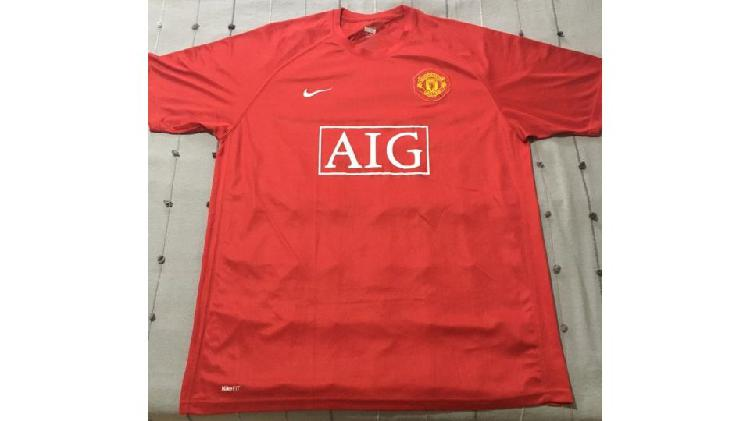 Camiseta manchester united original 2007/2008