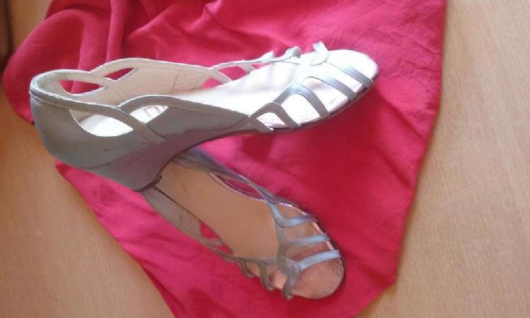 Nuevas! sandalias taco chino