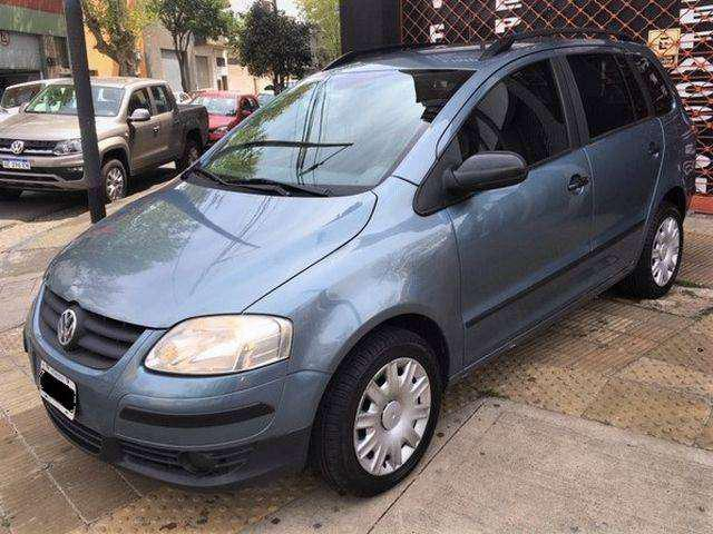 Vw suran comfortline 1.6 pack full impecable