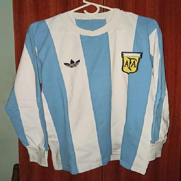 Camiseta selección argentina mundial 1978