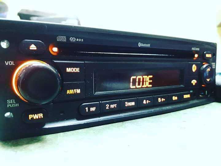 Codigos de estéreos, desbloqueo, recuperación de códigos