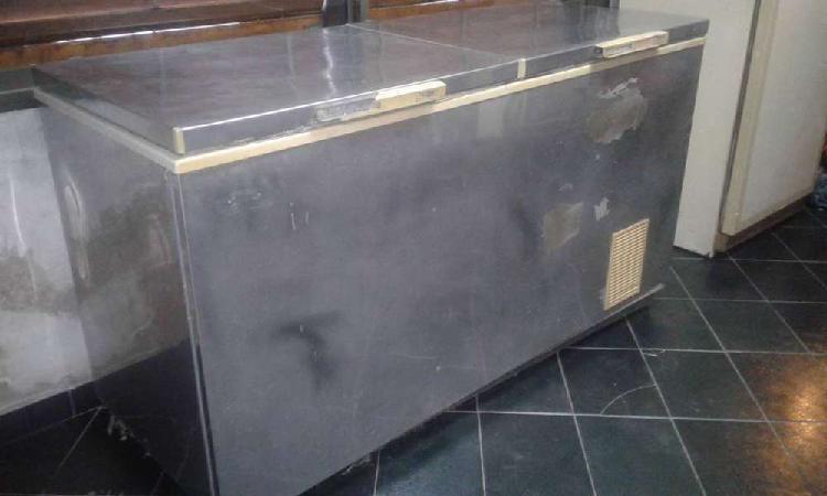 Freezer - pozo de frio 450lts dual todo acero inoxdable