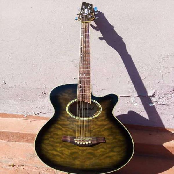 Guitarra acústica leonard
