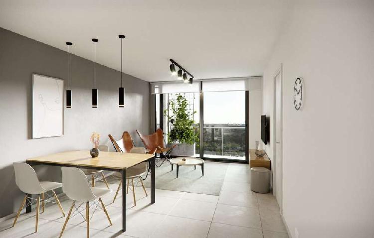 Monoambiente al pozo con balcon al frente. ideal inversion.