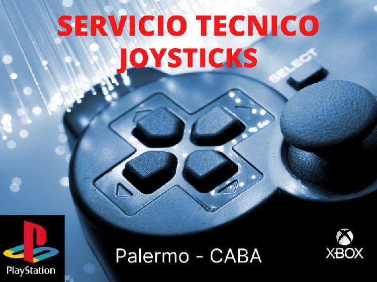 Servicio técnico / reparación joystick playstation - xbox