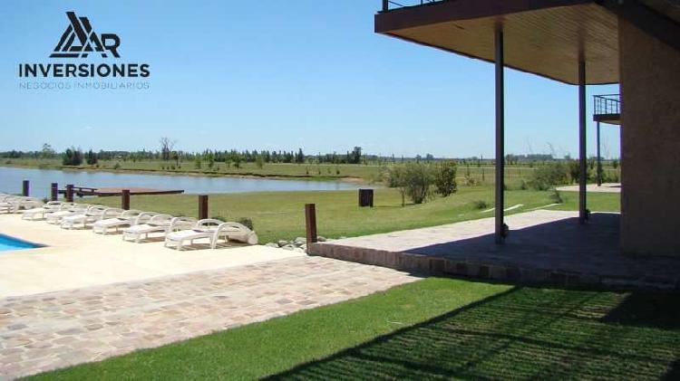 Vendo terreno en puerto roldan - zona club house y lago