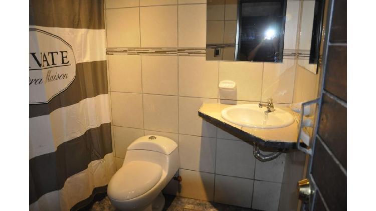 Md inmobiliaria alquila dormitorio amoblado!