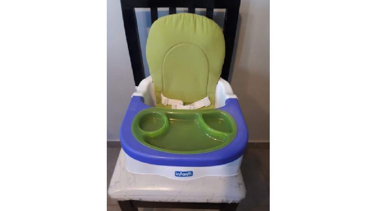 Silla comer booster bebé infanti