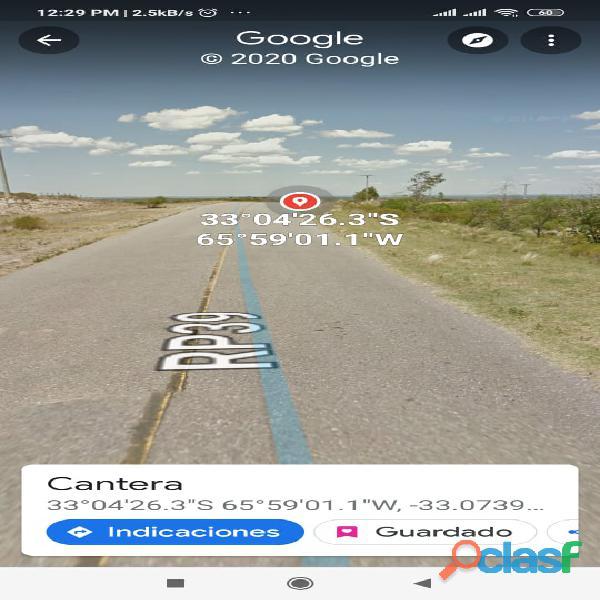 Campo con Cantera de Laja, San Luis. 7