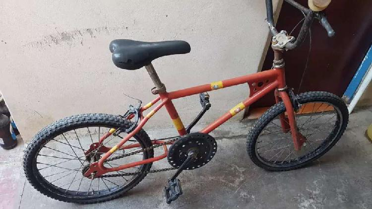 Bicicleta para niño, rod 20.