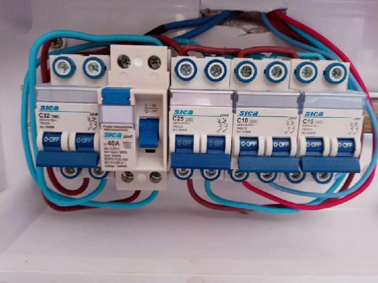 Electricidad doméstica general