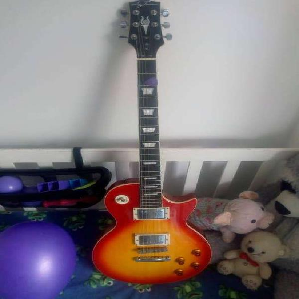 Guitarra eléctrica les paul jay turser jt 220 cs