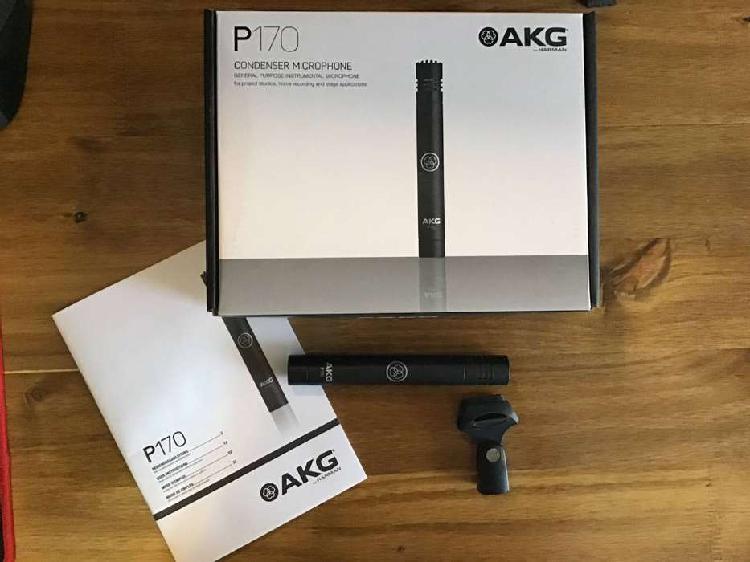 Microfono condenser akg p170
