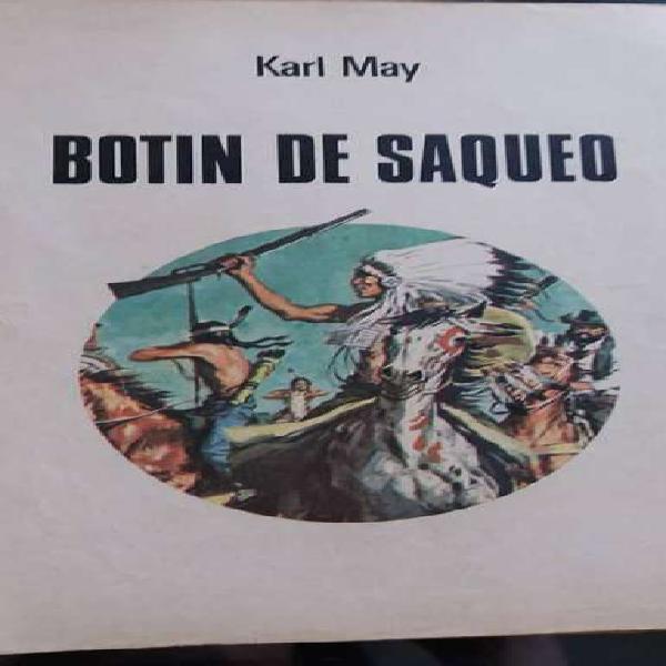Revista vintage botín de saqueo karl may joyas literarias