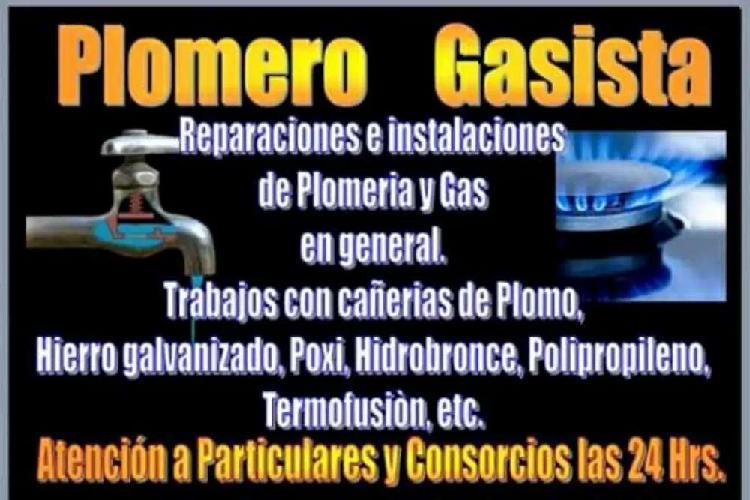 Servicio técnico de plomero gasista a domicilio en córdoba