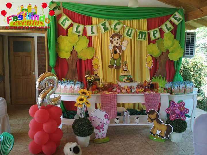 Animales de la granja festilindo eventos decoración
