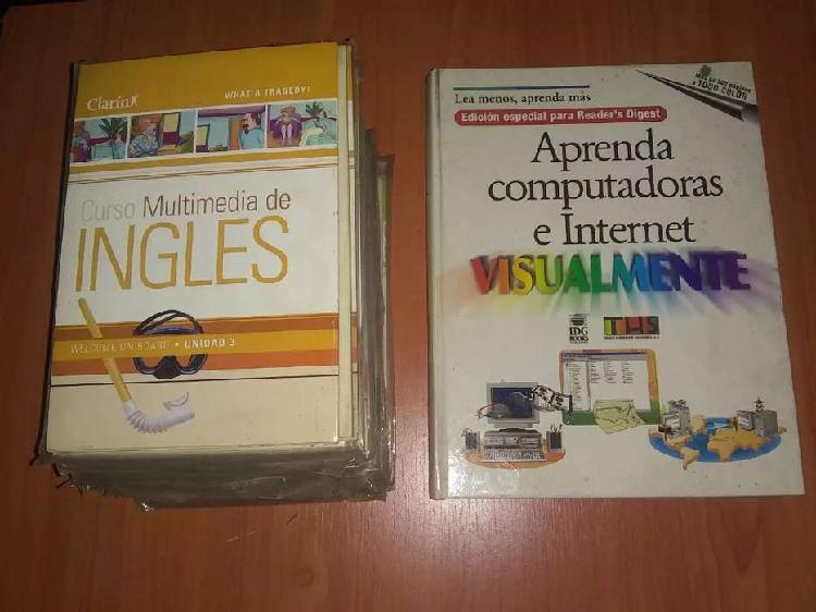 Antiguo curso computación,más 15 cd de otro curso de la