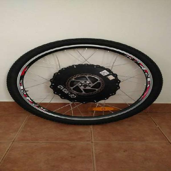 Bicicleta rueda elétrica