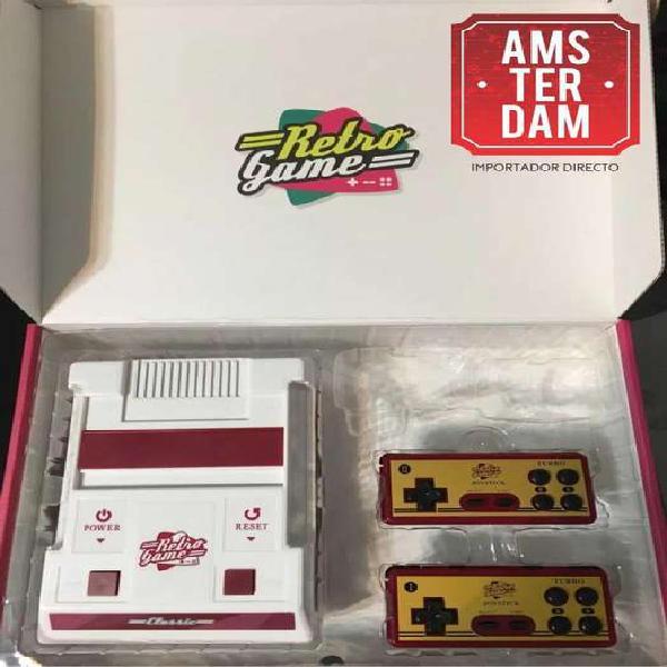 Consola retrogame juegos arcade snes sega family hdmi
