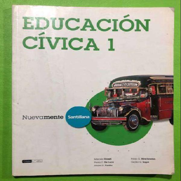 Educacion civica 1 - editorial nuevamente santillana