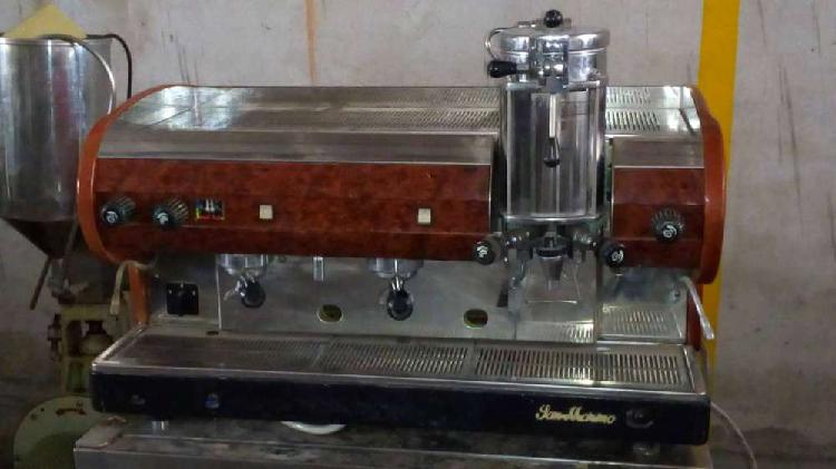 Maquina cafe p/baristas san marino italy 380v leer bien