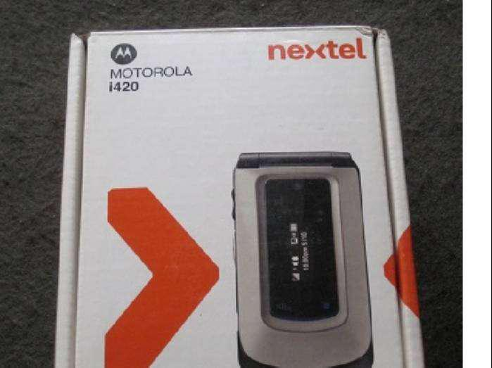 Nextel i 420 un clásico de nextel nuevo en su caja original