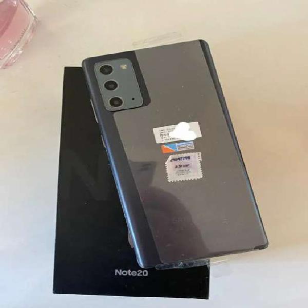 Samsung galaxy note 20 256gb 8gb libre caja accesorios color