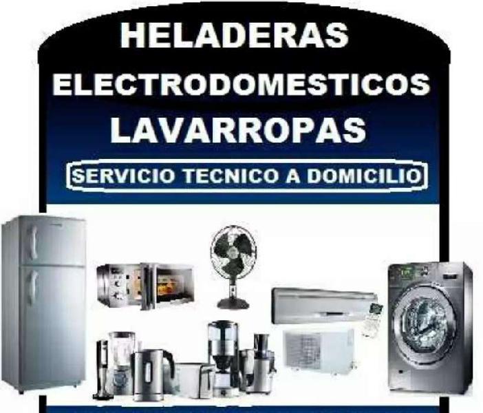 Servicio técnico de reparación de heladeras y lavarropas