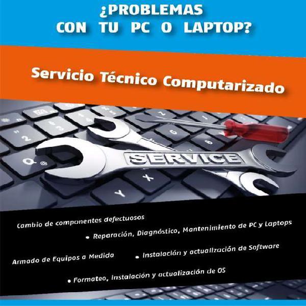 Servicio técnico pc - hardware - software - tecnología