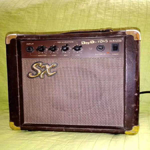 Amplificador sx 10w (vendo ya!!)para guitarra eléctrica y